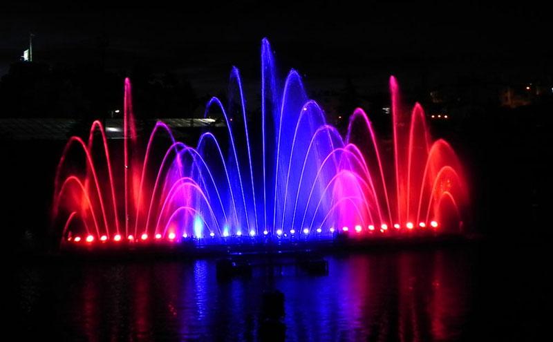 Spectacles Jets D Eau Show Aquatique Fontaines Lumineuses